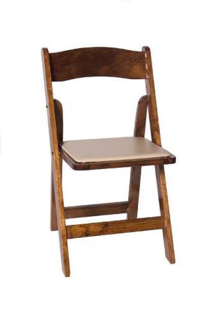 Rental store for WOOD FOLDING CHAIRS in Charlotte NC
