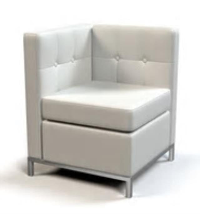 Where to find SECTIONAL CORNER WHITE LEATHER  NEW in Charlotte