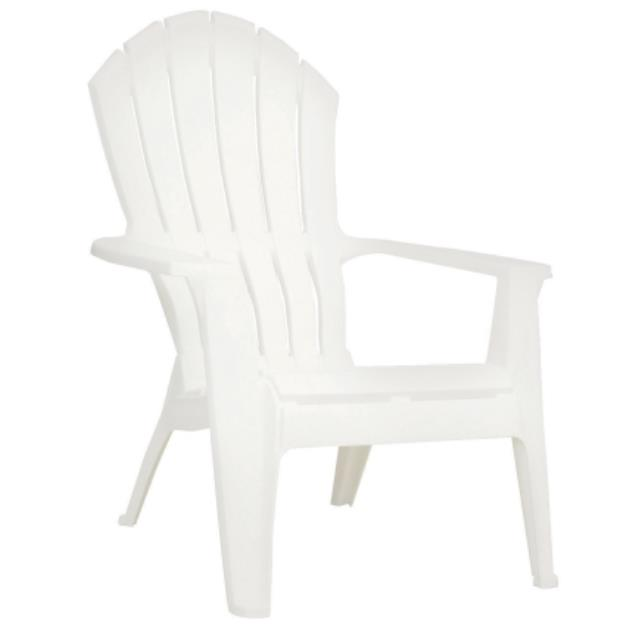 Where to find CHAIR ADIRONDACK WHITE RESIN in Charlotte