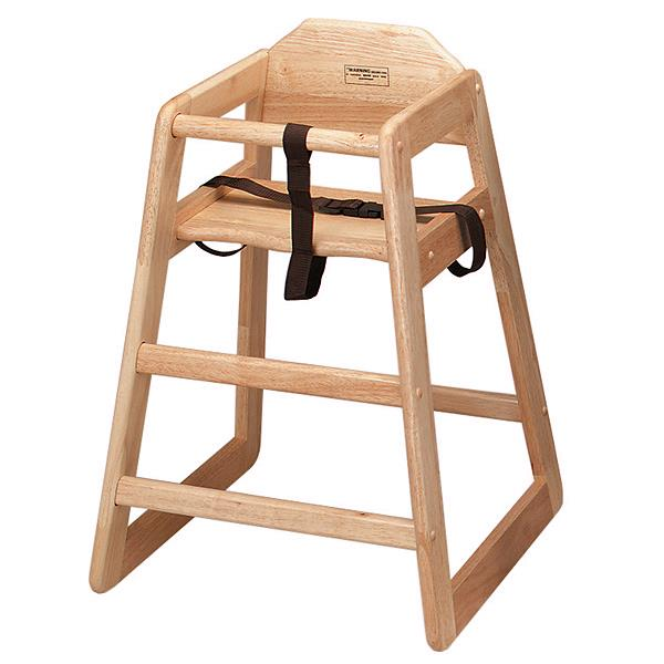 Where to find HIGHCHAIR WOOD NO TRAY in Charlotte