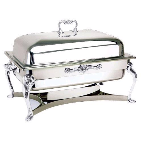 Where to find CHAFER 8 QT RECT SILVER in Charlotte