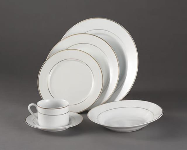 Where to find SAUCER IMPERIAL WHITE W  GOLD TRIM in Charlotte