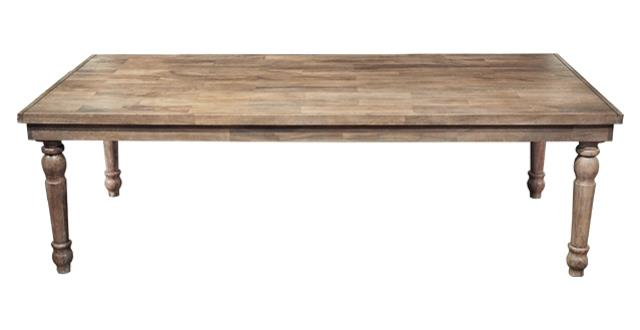 Where to find TABLE 8 X 42   HEIRLOOM DRIFTWOOD in Charlotte