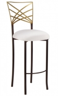 Rental store for CHAMELEON FANFARE TWO TONE BARSTOOL in Charlotte NC