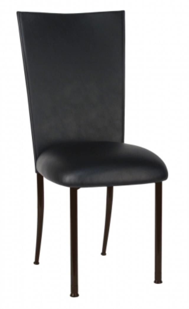 Where to find TOPPER CHAMELEON BLACK LEATHERETTE  CHAIR in Charlotte
